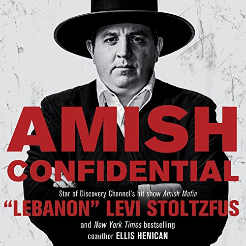 Amish Confidential audiobook cover art