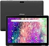 Winnovo Tablet 10 Pulgadas Android 9.0 PC Tablets Quad Core MT8163 3GB RAM 32GB ROM HD IPS 1280x800 2.0MP+5.0MP Cámara WiFi Bluetooth HDMI GPS FM (Negro)