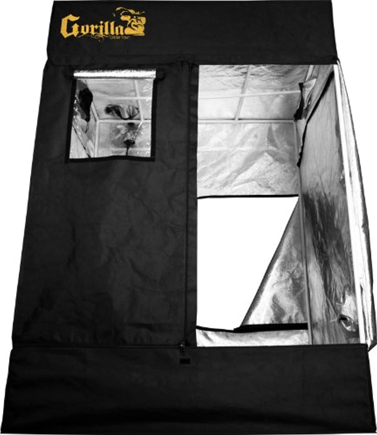 24 x 30 x 71 in.  Gorilla Grow Tent  83 in. with Height Extension Kit  Infrared Blocking Roof  Flood Proof Flooring  GGT22
