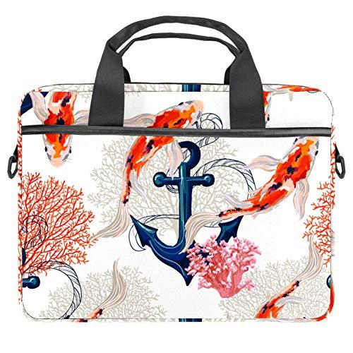 Laptoptasche, flying Paar, Cranes Over A Rising Sun, schmal, Aktentasche, Pendlertasche, Business-Tasche, Tragegriff, Schultertasche, Messenger Bag