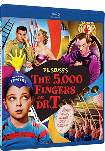 The 5,000 Fingers of Dr. T - Blu-ray