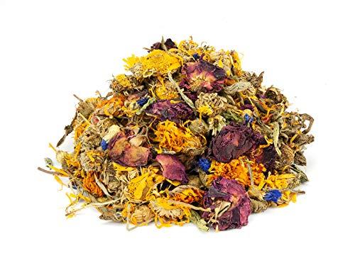 Mr. Crumble Dried Pet Food Blüten-Kräuter-Mischung getreidefrei, für Kaninchen, Meerschweinchen, Degus, 1000g