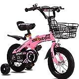 Bicicleta plegable niño 12/14/16/18 pulgadas niños bicicleta para niños y niñas ciclismo luz estudiantes bicicleta niños