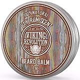 Bay Rum Beard Balm- All Natural Argan Oil and Jojoba Oil by Viking Revolution