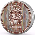 Beard Balm with Bay Rum Scent and Argan & Jojoba Oils - Styles, Strengthens & Softens Beards & Mustaches - Leave in… 2