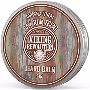 Beard Balm with Bay Rum Scent and Argan & Jojoba Oils - Styles, Strengthens & Softens Beards & Mustaches - Leave in… 8