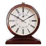 Relojes De Chimenea De Mudo Retro, Reloj De Oficina De Cuarzo Creativo Nostalgia Classic Home Péndulo Reloj De Decoración De Reloj para El Hogar