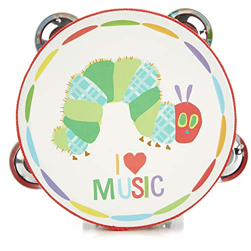 World of Eric Carle, The Very Hungry Caterpillar Tamborine by Kids Preferred by Kids Preferred