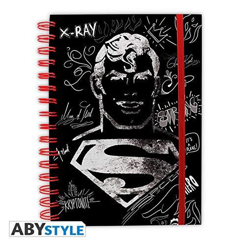 ABYstyle - DC COMICS - Notizbuch - Grafik Superman