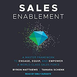 Sales Enablement audiobook cover art