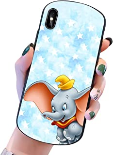 Disney Collection iPhone X/Xs Case Shield Dumbo Tablecloth Soft TPU Bumper Cover Phone Case Compatible for iPhone X/Xs