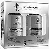 KEVIN LEVRONE Levro Test AM Formula 120 Compresse + PM Formula 120 Compresse | Booster di testosterone per uomini | Pillole anabolizzanti per la crescita della massa muscolare