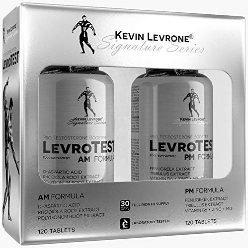 KEVIN LEVRONE Levro Test AM Formula 120 Tabletas + PM Formula 120...