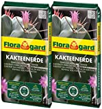 Floragard Kakteenerde 2x5L - für alle Kakteen und...