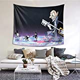 IUBBKI Tapiz Kingdom Hearts Tapestry Wall Hanging,Living Room Bedroom Dorm Hippie Soft and Durable Decor Tapestries Suitable fo.
