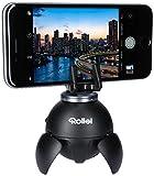 Rollei Smart ePano 360 I Testa panoramica elettronica per Foto, Selfie, Panorami e Scatti time-lapse, Carico massimo 500 g I incl. telecomando Bluetooth I Nero