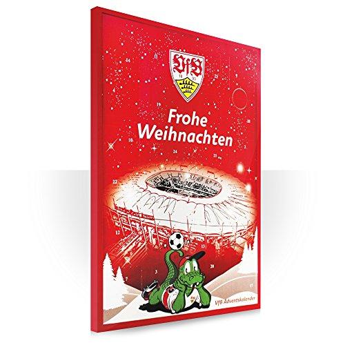 VfB Stuttgart Adventskalender mit Schokolade