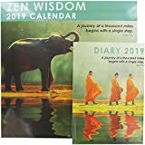 Zen Wisdom - Calendario y agenda 2019