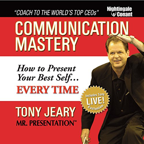 Communication Mastery audiobook cover art