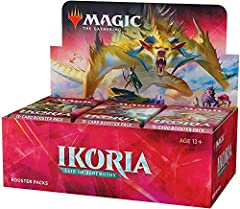 Open hundreds of cards, upgrade your deck, and claw your way to the top of the food chain. With 36 Ikoria: Lair of Behemoths (IKO) booster packs, the possibilities are nearly endless. Enhance your Magic: The Gathering (MTG) collection with a never-be...