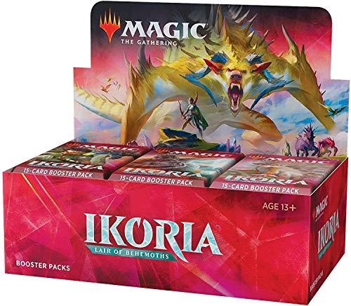 Magic: The Gathering Ikoria: Lair of Behemoths Draft Booster Box | 36 Paquetes de Booster (540 Tarjetas + Tapa de Caja) | Sellado de fábrica