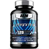 Iron Labs Nutrition, L Carnitine Xtreme - 500mg x 120 Capsules - L Carnitine Tartrate Supplement, Vegetarian Capsules