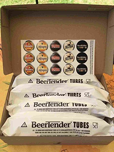 30 tubes beertender pour machine Krups ou Seb