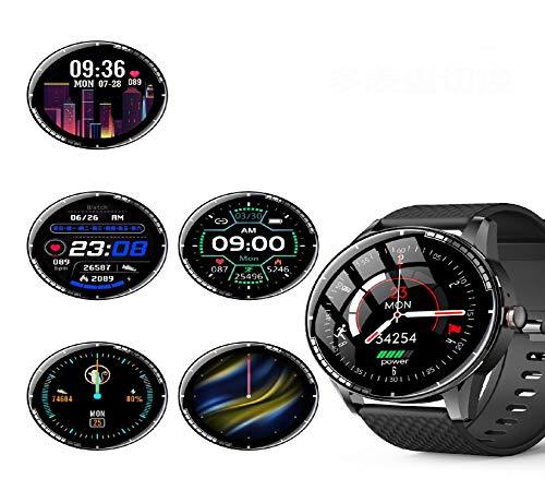 GUOJIAYI Smart Armband Digital Dial Verbindung WeChat Sport Modus Musik Player Uhr