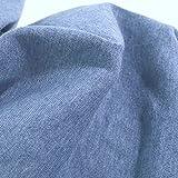 TOLKO 1m leichter Bündchen-Jersey für Shirt Kleid Rock  
