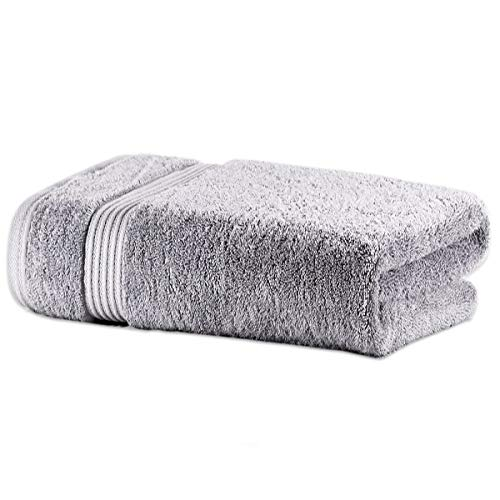 Bath Towel Comvi Bamboo 1Pc - Premium 700GSM Towel - 50% Bamboo 50% Cotton...