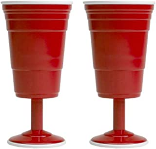 Red Cup Living 8oz. Wine Cup (Set of 2)