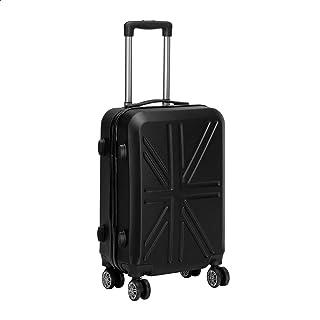 JB Luggage Trolley Travel Bag, Size 20 - Black