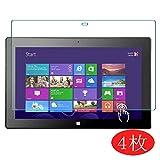 Vaxson 4 Stück Schutzfolie für Microsoft Surface Pro 2 10.6