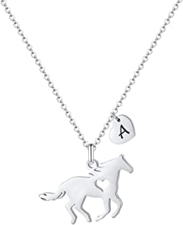 Jockey Necklace Equestrian Necklace Cowgirl Necklace Sterling Silver Horseshoe Necklace Uk shop Horse Necklace Horsewoman Necklace
