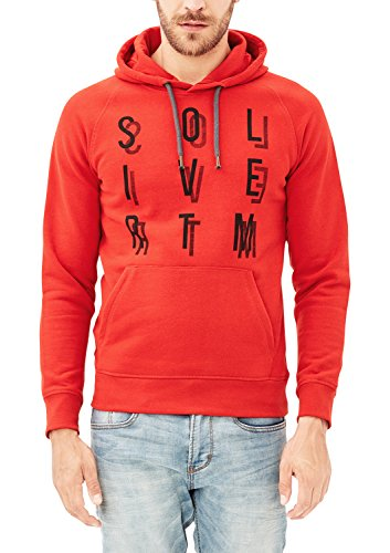 s.Oliver Herren 13709412574 Sweatshirt, Rot (Energy Red 3075), X-Large