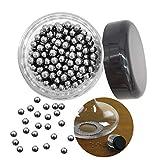 Perles de nettoyage antirouille réutilisables, nettoyez facilement la verrerie de votre bouteille de vin (300 pièces)