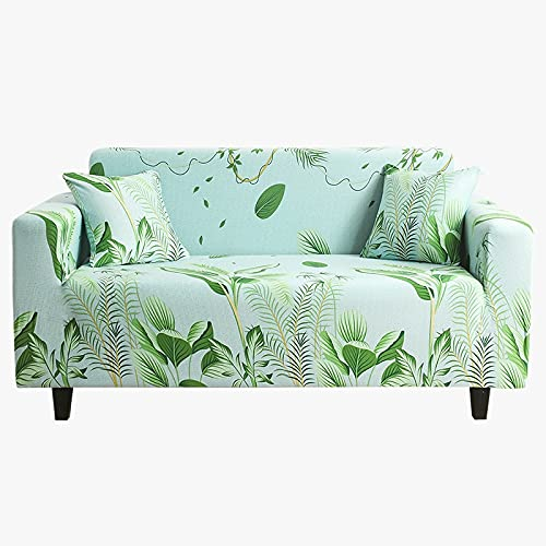 WXQY Funda de sofá elástica elástica,Funda de sofá Antideslizante para decoración del hogar,Sala de Estar,Funda de sofá de protección para Mascotas A3 de 3 plazas