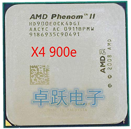 Phenom II X4 900E CPU Processor Quad-Core (2.4Ghz/ 6M /65W / 2000GHz) Socket am3 am2+
