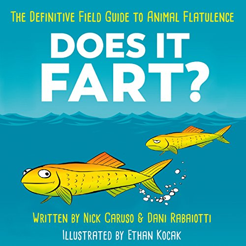 Does It Fart? audiobook cover art