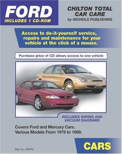 FORD Cars 1979-1999 (CD-ROM in Jewel Case) (Total Car Care)