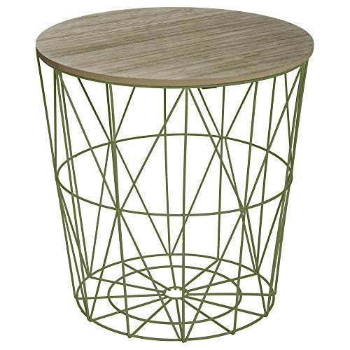 Atmosphera Table Basse Design Moderne - Style scandinave - Coloris Vert Anis