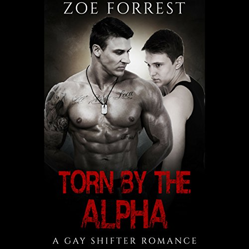 Torn by the Alpha audiobook cover art