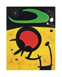 Joan Miró Poster/Kunstdruck Vuelo de pajaros 40 x 50 cm