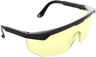 JKPOWER Protection Goggles Laser Safety Glasses Green Blue Eye Spectacles Protective Safety Glasses Yellow