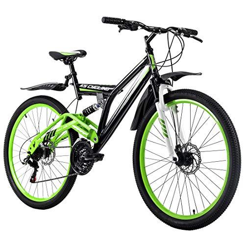KS Cycling Mountainbike Fully 26'' Root One grün-schwarz RH 46 cm