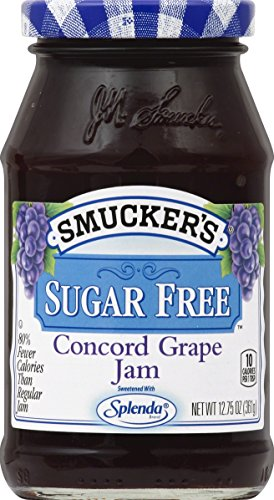 Smucker s Sugar Free Concord Grape Jam With Splenda Brand Sweetener, 12.75 oz