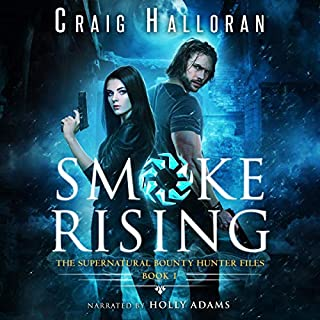 Smoke Rising: An Urban Fantasy Shifter Series audiobook cover art