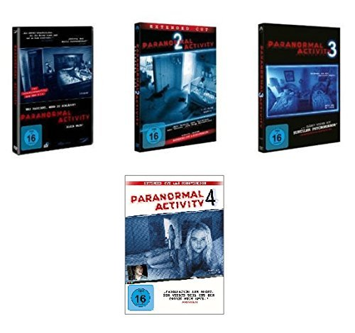 Paranormal Activity 1-4 im Set - Deutsche Originalware [4 DVDs]