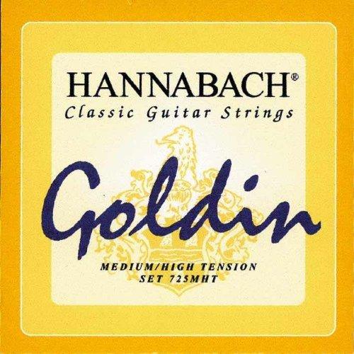 Hannabach 725MHT Goldin Konzertgitarre-Saiten Medium / High Tension
