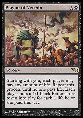 Magic The Gathering - Plague of Vermin - Shadowmoor